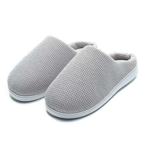 Zapatillas de Casa Hombre, Ultraligero cómodo y Antideslizante, Zapatilla de Estar por casa para Hombre: Amazon.es: Zapatos y complementos