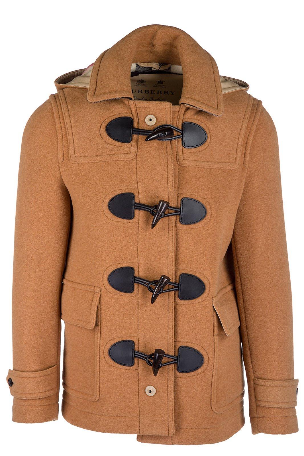 Burberry montgomery duffle coat outwear men original plymouth beige US size 52 (US 42) 4059551