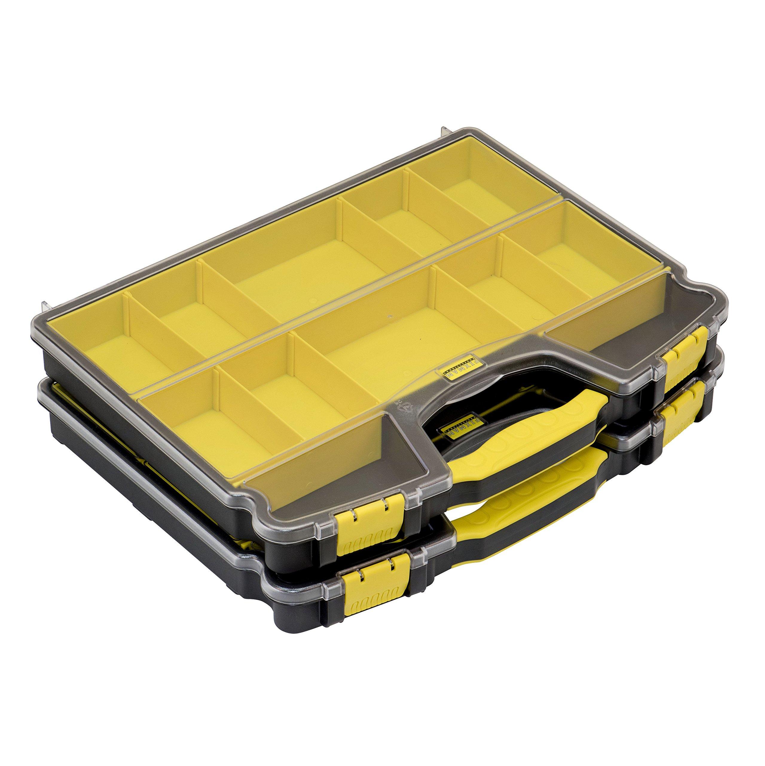 Trademark Tools 49024 12-Bin Organizer (2-Pack)