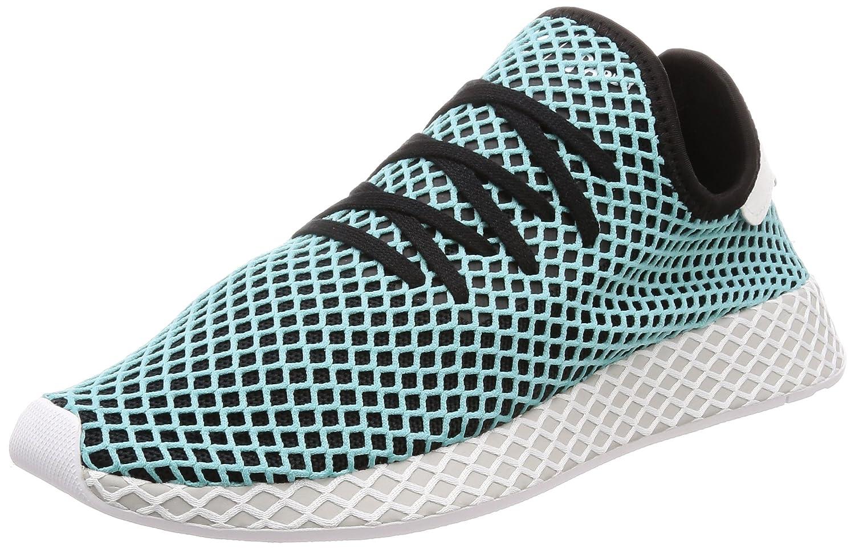online store 57f49 f36eb adidas Deerupt Runner Parley CQ2623 Herren Sneaker (EUR 44, blau)  Amazon.de Schuhe  Handtaschen