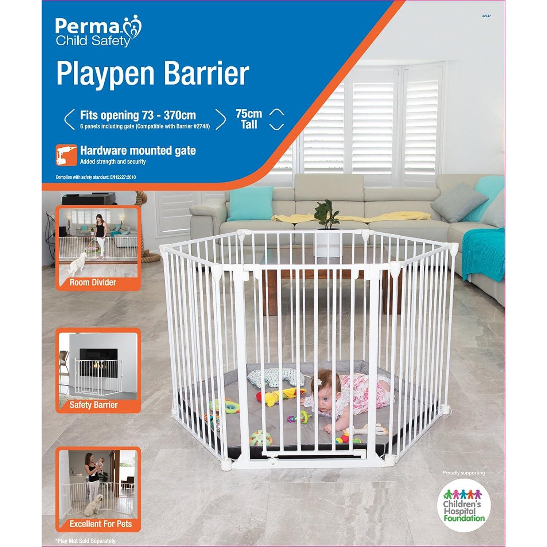 Amazon Com Perma 3 In 1 Playpen Play Yard Baby Gate 6 Panels