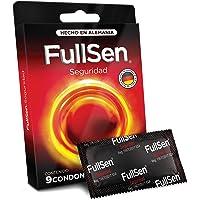 FULLSEN Seguridad, Condones de látex natural, Cartera de 9 Condones