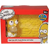 The simpsons coquetier et tampon toast - simpsons