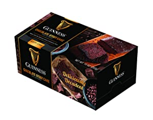 Great Spirits Baking Guinness Chocolate Stout 10 oz Liquor Cake - Highest Quality Cakes for Delivery - The Best Gift for Birthdays, Holidays, Graduation or Bachelor/Bachelorette Parties