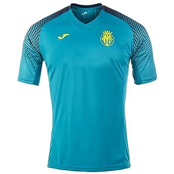 Joma 2017 - 2018 Villarreal Camiseta de Entrenamiento (Azul), Azzurro: Amazon.es: Deportes y aire libre