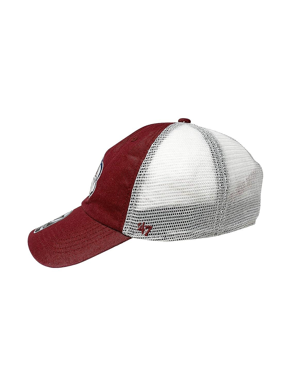47 Brand Colorado Avalanche NHL Hockey Low-Profile Flexfit Mesh Back Cap