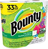 Bounty Bounty paper towels, print, 2 big roll = 33% more sheets, 2 Count