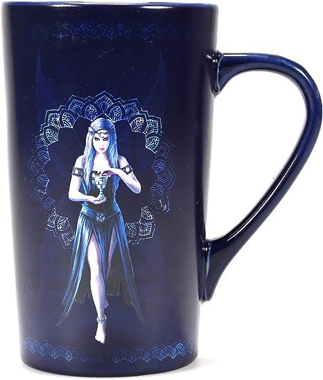 Tasse Kaffeebecher Gothic Pentagramm II  2er Set
