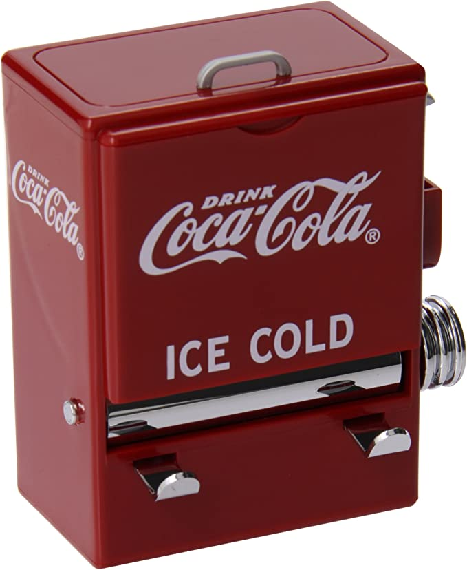 COCA COLA COKE MATCHING CAFE STYLE STRAW NAPKIN /& TOOTHPICK DISPENSER SET 3 pc