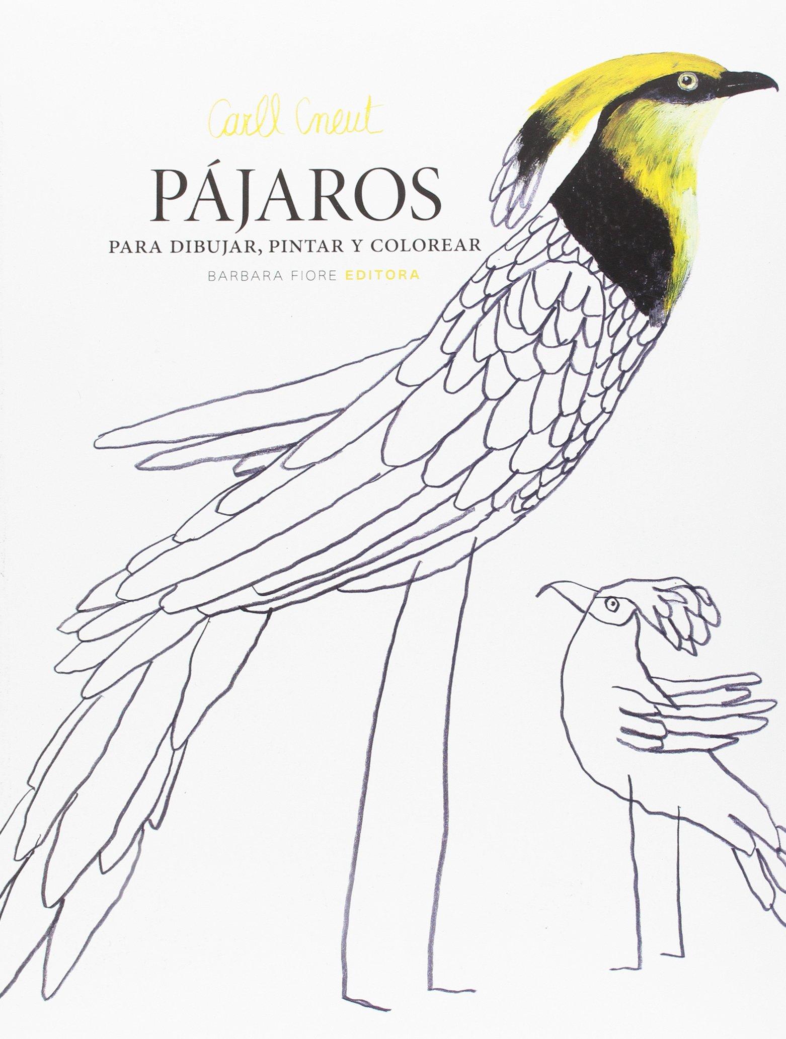 Pájaros para dibujar, pintar y colorear: Amazon.es: Carll Cneut ...