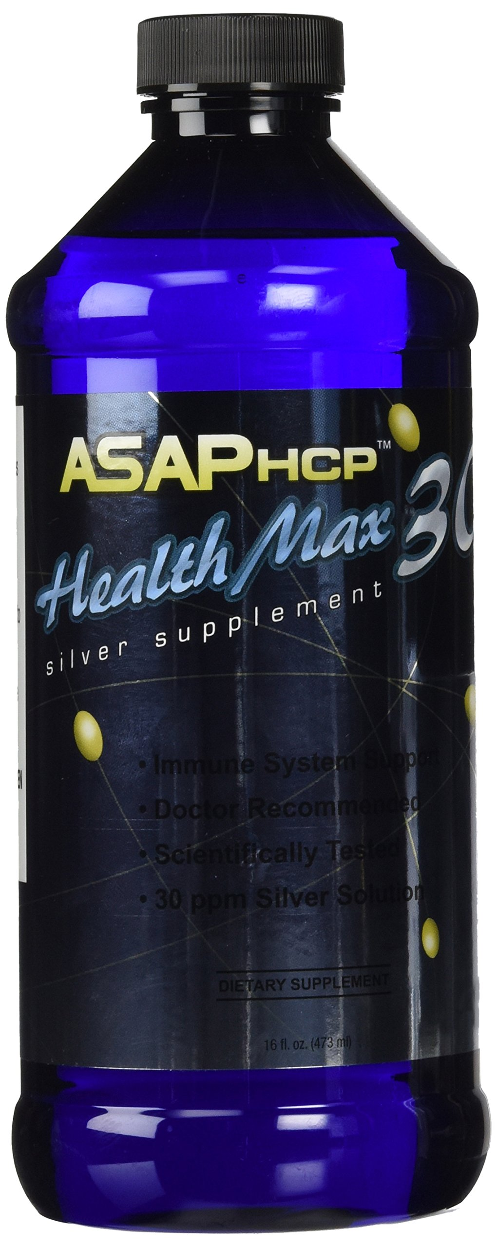 American Biotech Labs Health Max 30 ASAPHCP Silver Dietary Supplement, 16 Ounce by Health Max