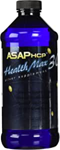 American Biotech Labs Health Max 30 ASAPHCP Silver Dietary Supplement, 16 Ounce