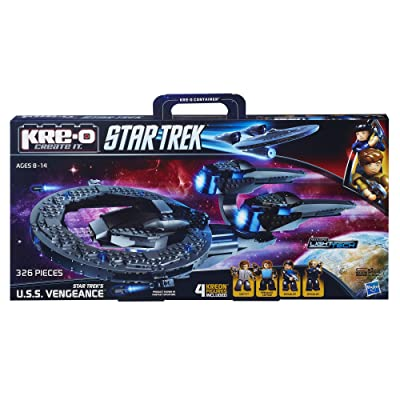 KRE-O Star Trek U.S.S. Vengeance Construction Set (A4364): Toys & Games