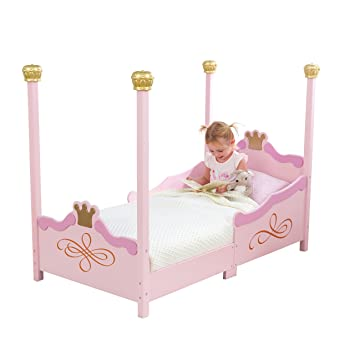 amazoncom princess toddler bed toys games - Princess Bed