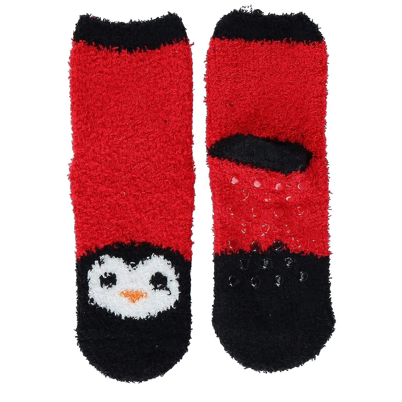 Rene Rofe Girls Night Gown and Slipper Sock Pajama Set