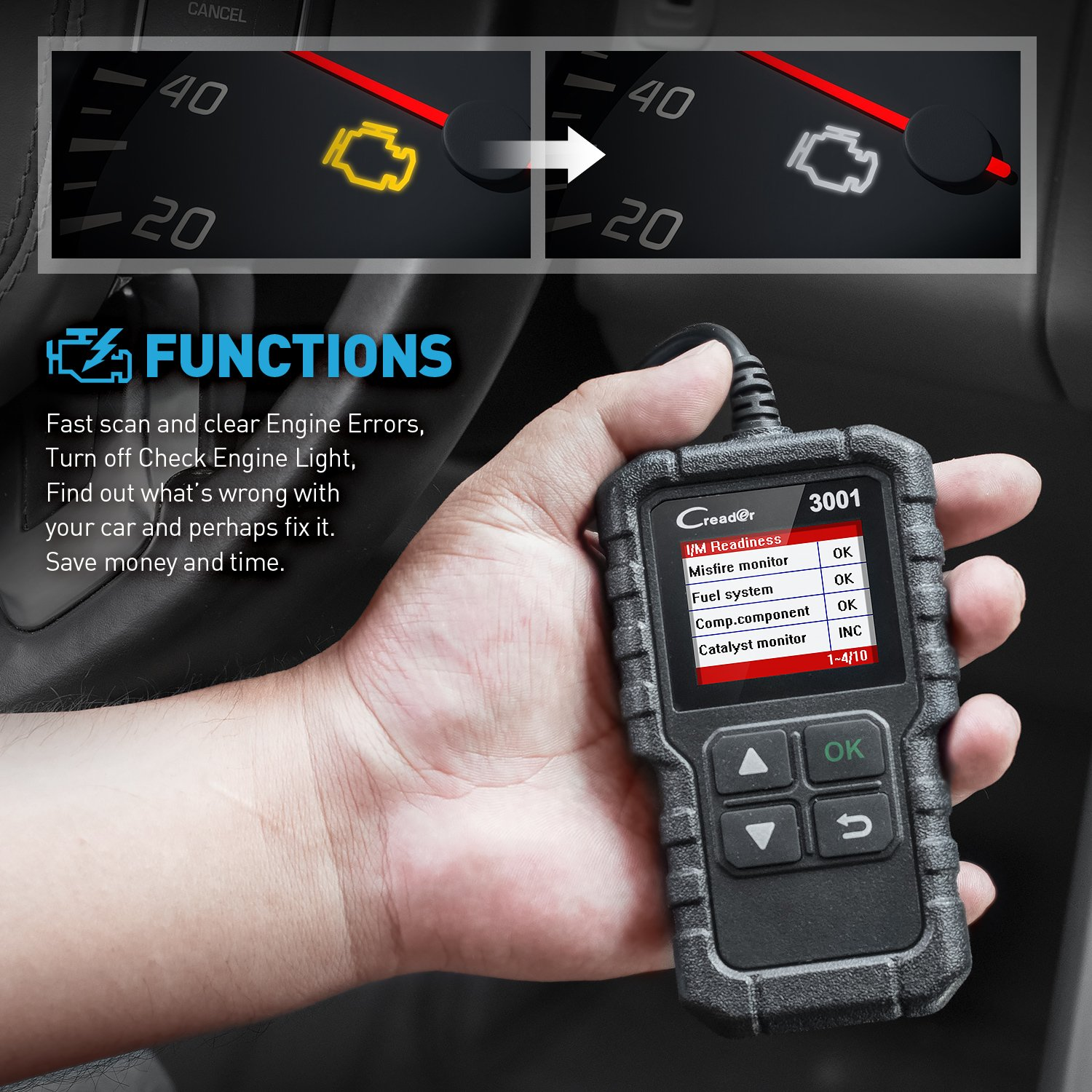 The 5 Car Diagnostic Tools You Must Have In Your Garage: 2020 Reviews & Buying Guide 4