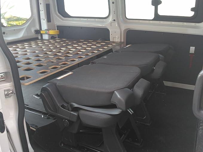 SmartPlayhouse Estrutura de Cama para Furgoneta Ford Transit ...