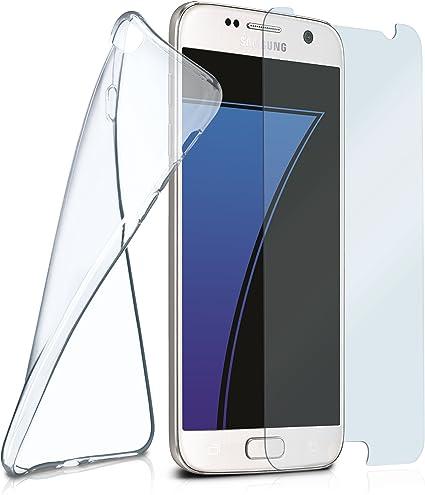 MoEx Aero y Cristal para Samsung Galaxy S7 Transparente Crystal ...
