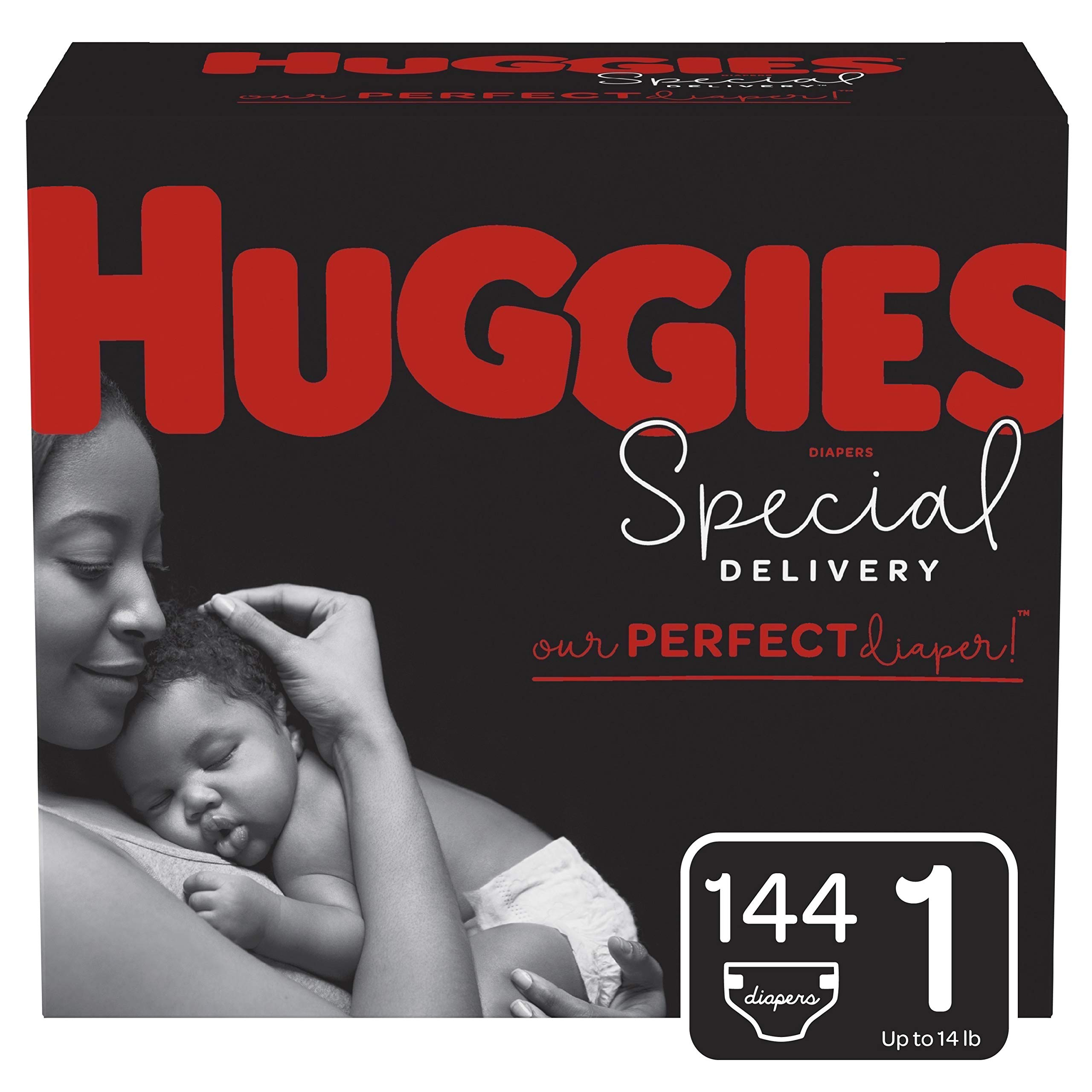 Huggies Special Delivery Hypoallergenic Baby Diapers, Size 6 (35+ lbs.), 36 Count, Giga Jr. Pack