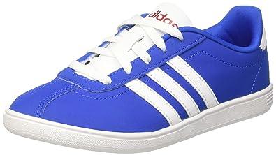 adidas Jungen Vlcourt K High-Top, Mehrfarbig (Blue/Ftwwht/Powred), 30 EU