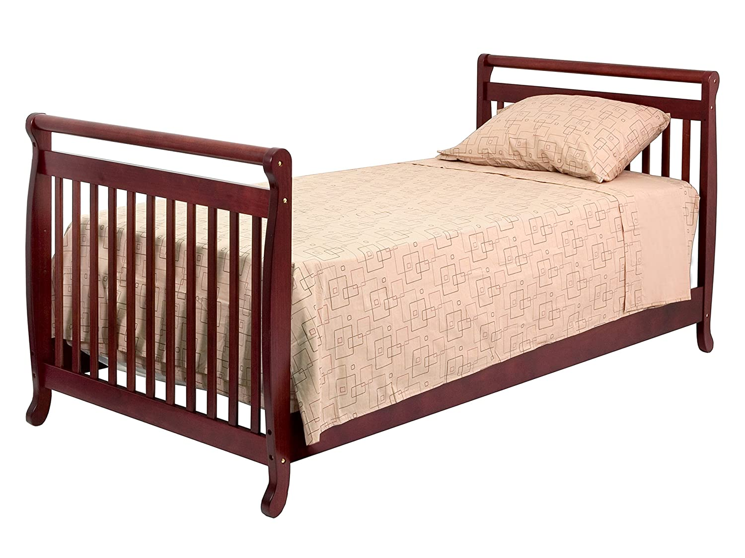Amazoncom DaVinci TwinFull Size Bed Conversion Kit Cherry