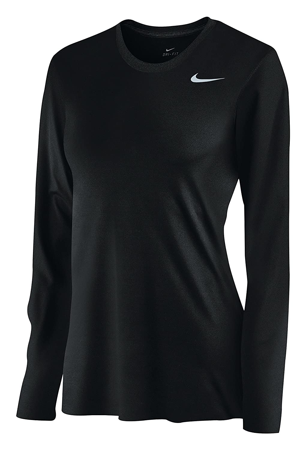 de7d1180 Amazon.com: Nike Womens Dri-Fit Fitness Workout T-Shirt: Clothing