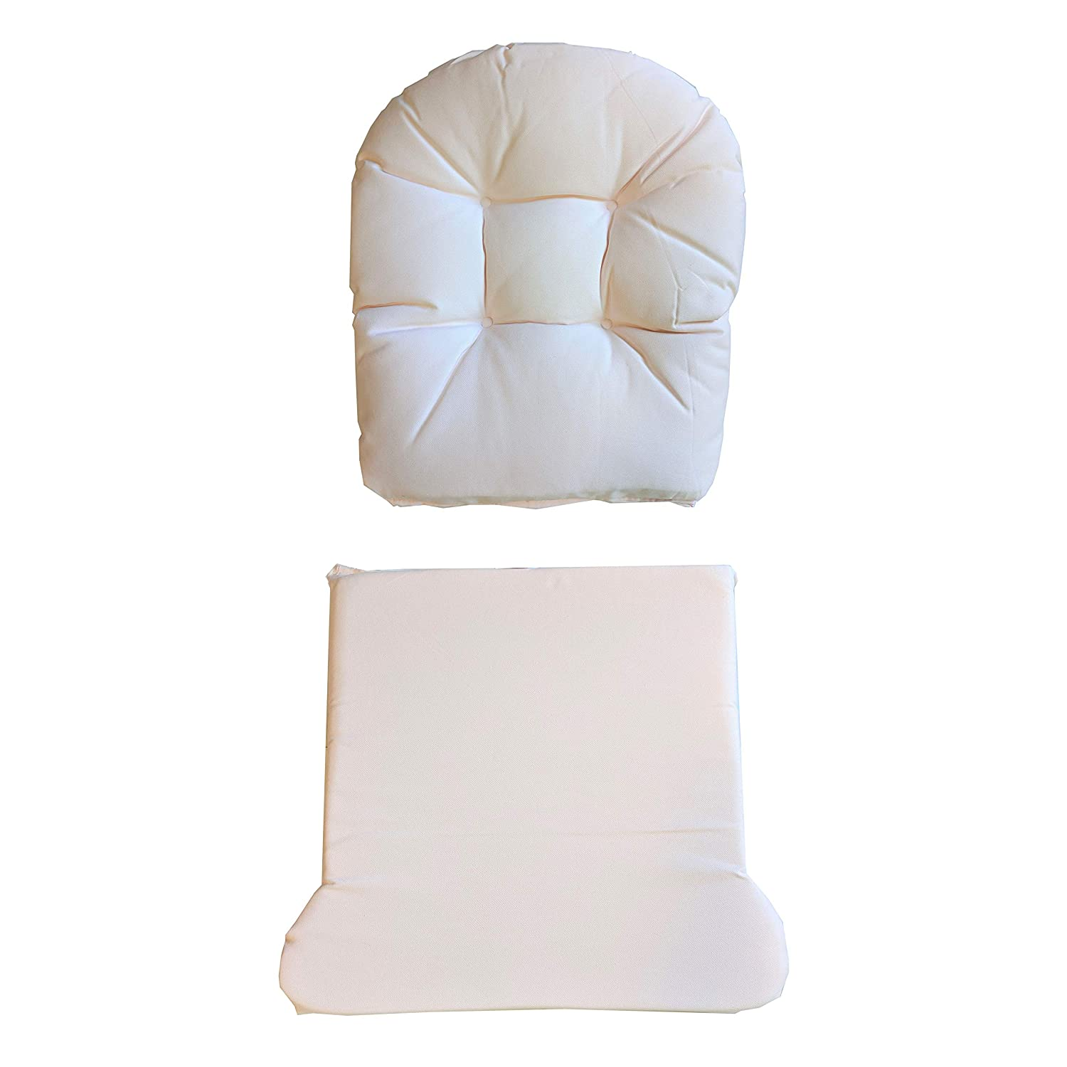 Durable and Spot Cleanable Storkcraft Hoop Glider and Ottoman Replacement Cushion Set 5 Pieces Pink Stylish Cushion Replacement Set for Glider and Ottoman Padded Arm Rests