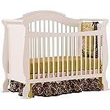 Stork Craft Valentia Convertible Crib, White