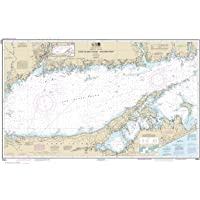 Paradise Cay Publications, Inc. NOAA Chart 12354: Long Island Sound Eastern Part, 29.9 X 47.2, Traditional Paper