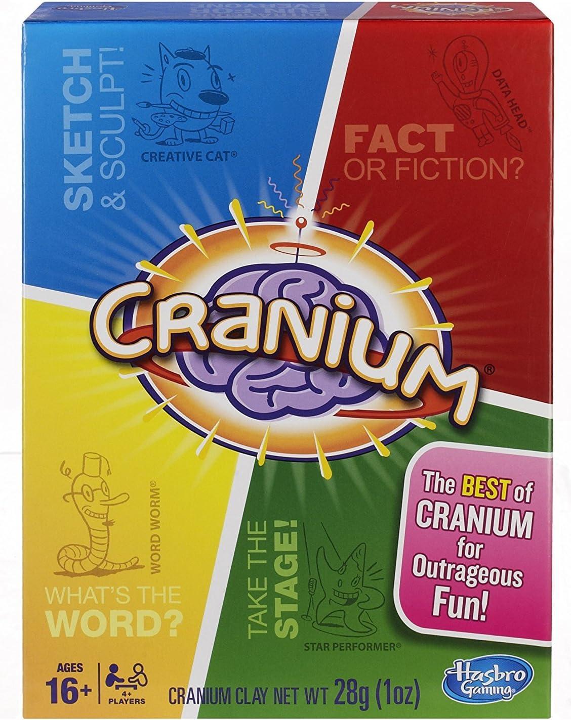 Hasbro Gaming - Cranium, Juego de Mesa (versión en inglés): Amazon ...