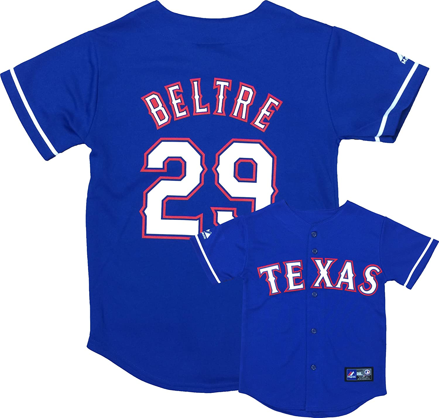 Adrian Beltre Texas Rangers Youth Authentic Alternate Jersey supplier