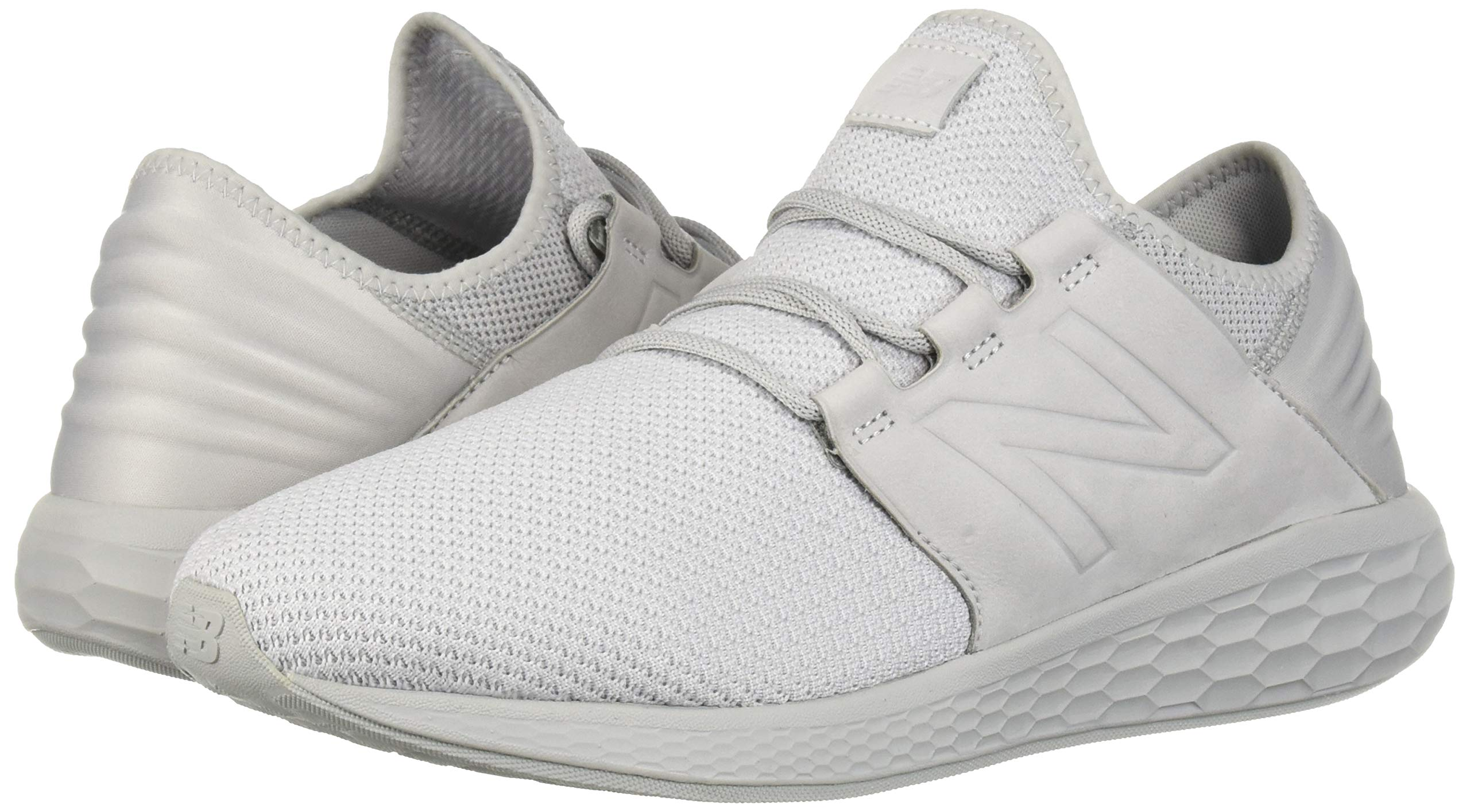 New Balance Men's Cruz V2 Fresh Foam Running Shoe, arctic fox/white/nubuck, 7 D US by New Balance (Image #6)