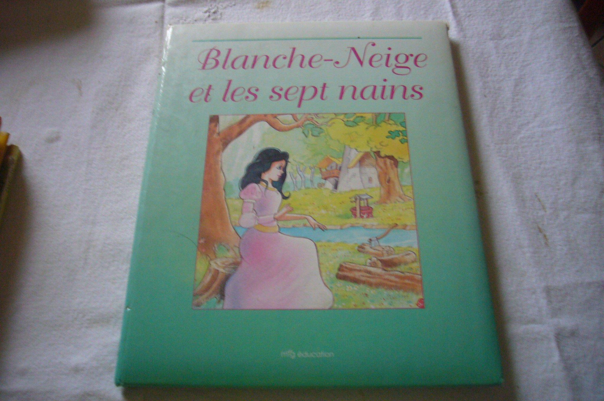 Blanche Neige Et Les 7 Nains Livre Cd 9788482140537 Amazon