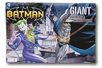 Batman Giant Coloring And Activity Book
