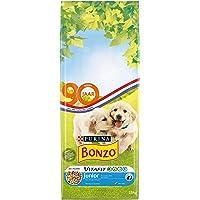 Bonzo Junior hondenbrokken met Kip, Toegevoegde Melk en Groenten - hondenvoer voor puppy's v.a. 6 weken 15kg, 1 pak