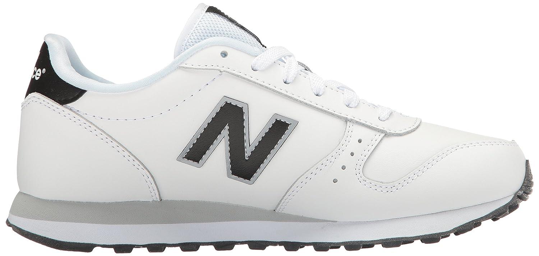 New Balance Women's 311 Lifestyle Fashion Sneaker B01LX0WQJZ 5 B(M) US|White/Black