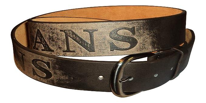 """Trouser Belt. Men/'s Leather Jeans 48/"""" Waist 28/"""" 1.5/"""" Wide"""