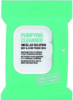 Comodynes Purifying Cleanser Acne Toallita Micelar - 20 Unidades | Toallitas desmaquillantes para pieles grasas con