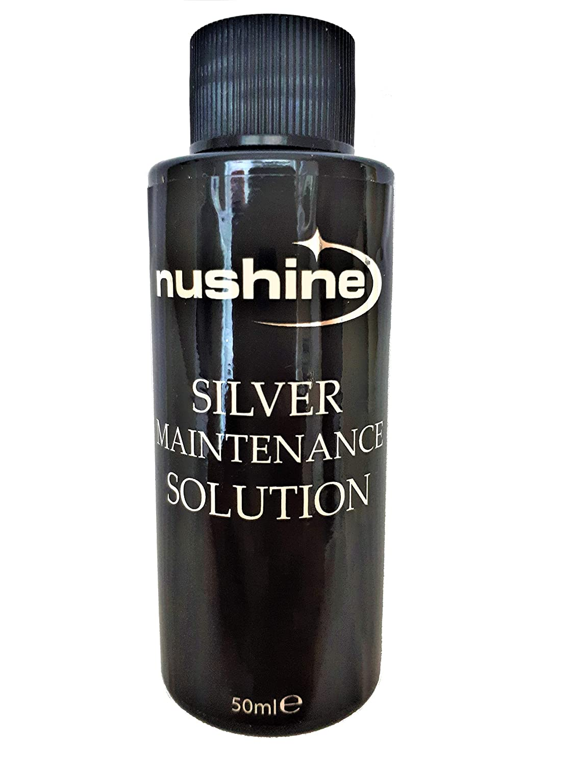 Nushine Silver Maintenance Solution 50ml - contains pure silver (ideal for worn silver)