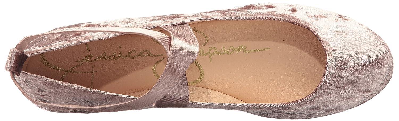Jessica Simpson Women's Mandayss Ballet Flat B071JDJ9PC 9.5 B(M) US|Cashmere Mauve