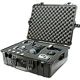 Pelican 1600 Case with Foam (Camera, Gun, Equipment, Multi-Purpose) - Black