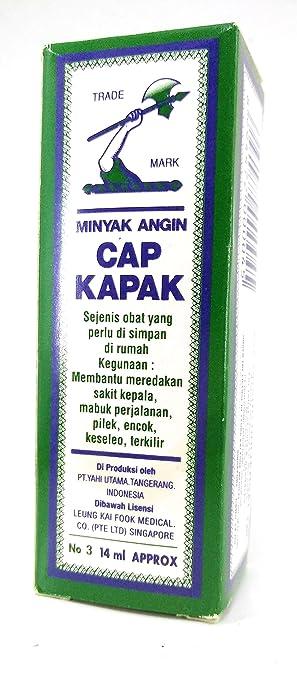 Minyak Angin Cap Kapak Medicated Oil No  Ml