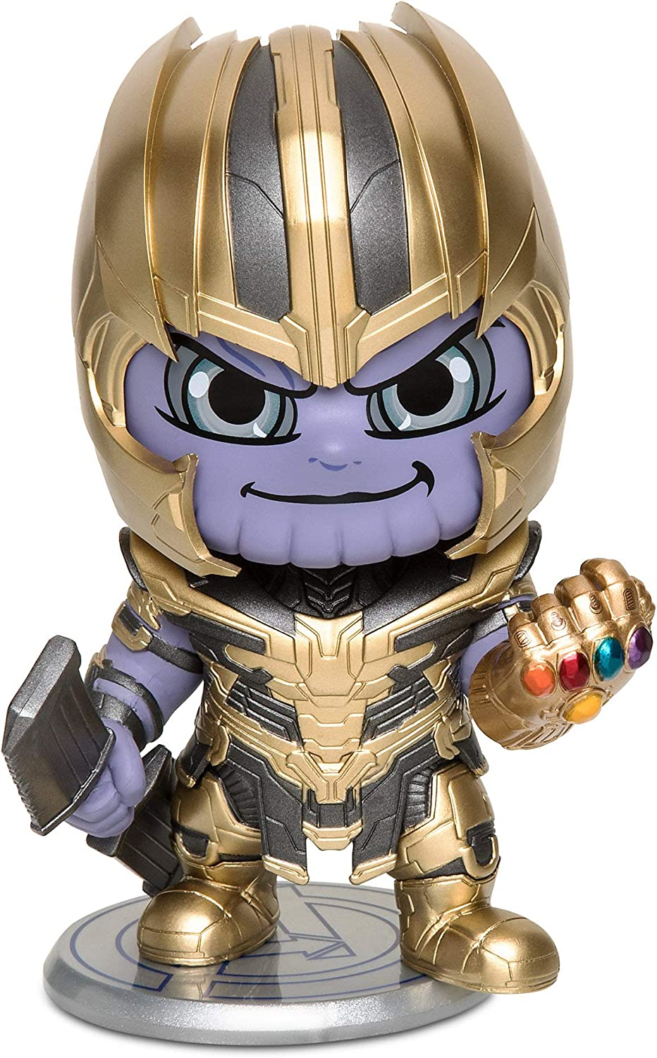 Marvel Disney Thanos Cosbaby Bobble-Head Figure by Hot Toys Avengers: Endgame