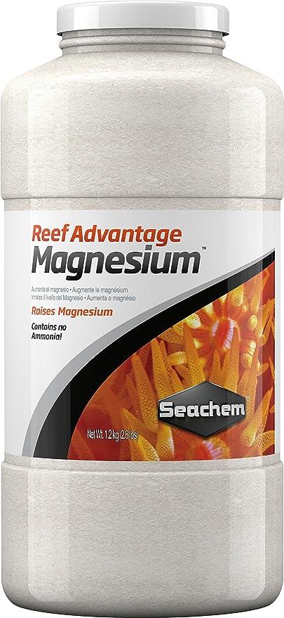Seachem Reef Advantage Magnesium 1200 g Magnesio en polvo Acuario Marino Reef
