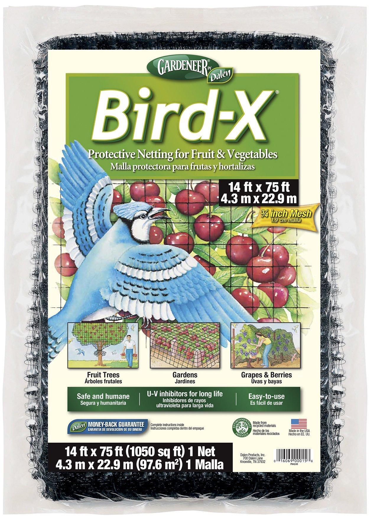 Dalen Gardeneer Bird-X Protective Netting 14' x 75' (1 Pack) by Dalen (Image #1)