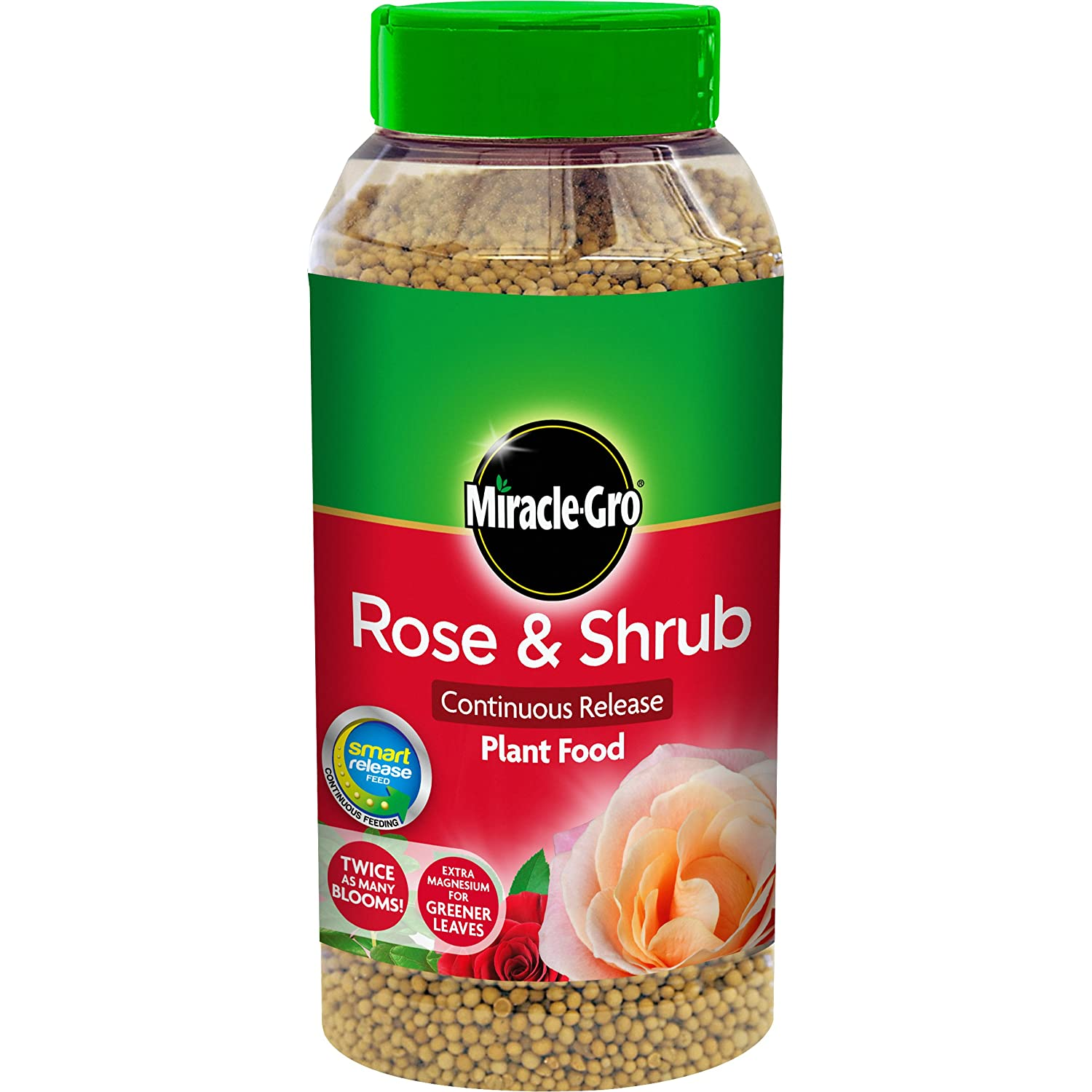 Miracle-Gro 1Kg Continuous Release Rose and Shrub Food Evergreen Garden Care Ltd 100065
