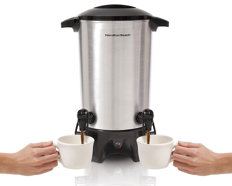 Hamilton Beach 40518 Dual-Spout Coffee Urn Silver