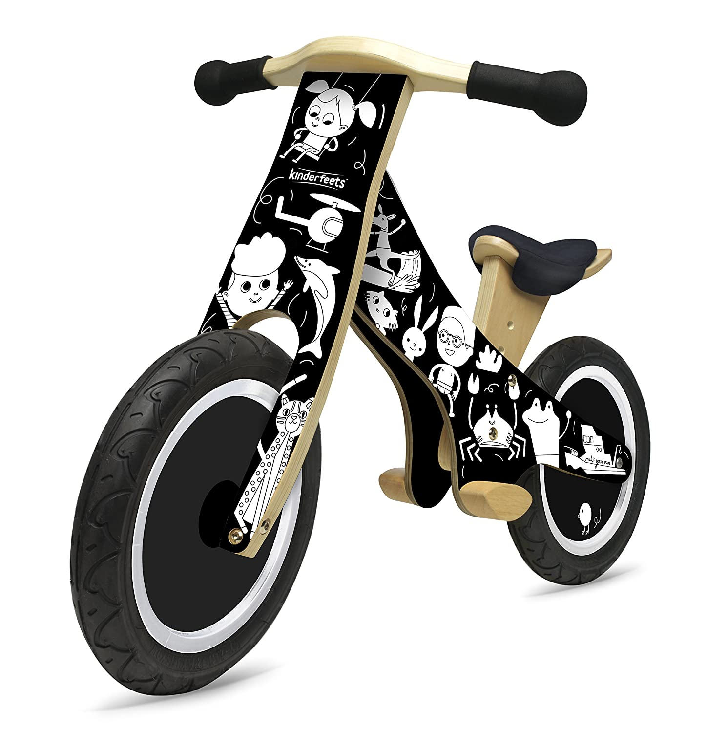 Kinderfeets Classic Makii Wooden Balance Bike