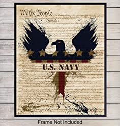 US Navy Veteran Proud Choose A Family Member Dictionary Art Print