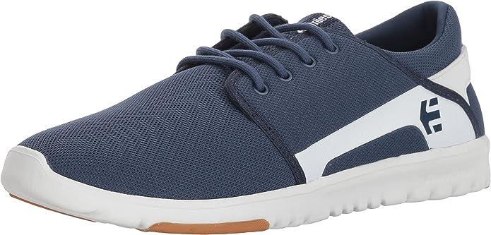 Etnies Scout Sneakers Herren Blau/Weiß (Dark Blue /White)